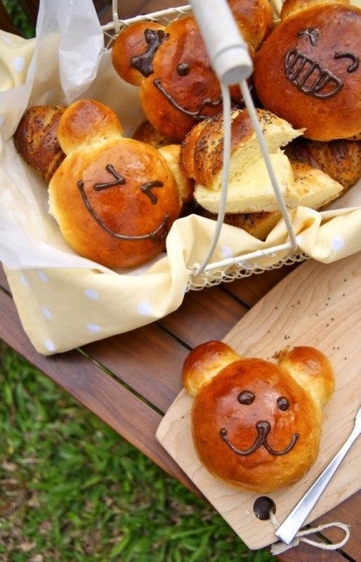 Сладкие картофельные булочки с шоколадом