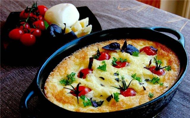 приготовить ужин   Омлет по-итальянски