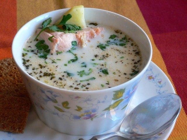 кулинария дома | Финский рыбный суп