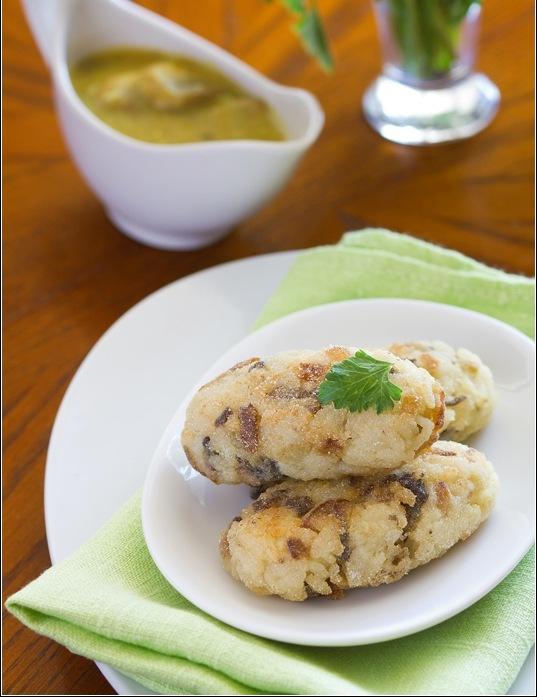 кулинария темы | Рисовые котлеты с грибами