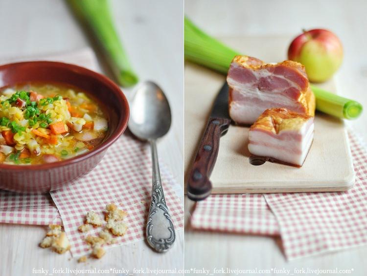 вкусняшки фото | Альпийский чечевичный суп