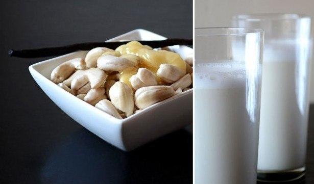 кулинария дома | Молоко из кешью