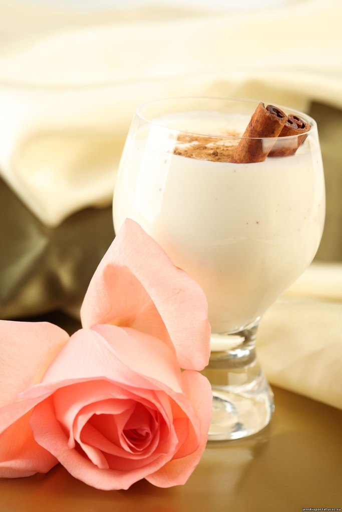 кулинария рецепты   Коктейль молочный с медом
