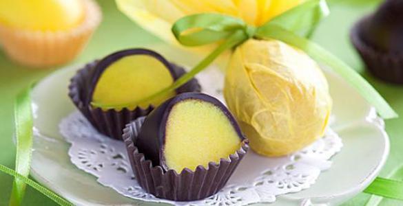 Пасхальные конфеты «Шоколадные яйца»