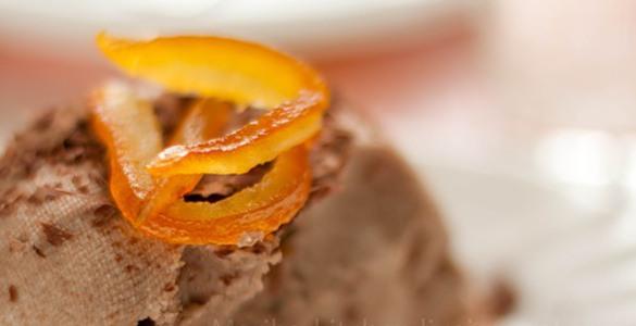 Шоколадная пасха с апельсиновыми цукатами