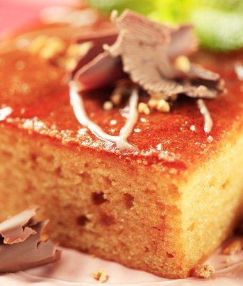 Яблочно-медовый кекс