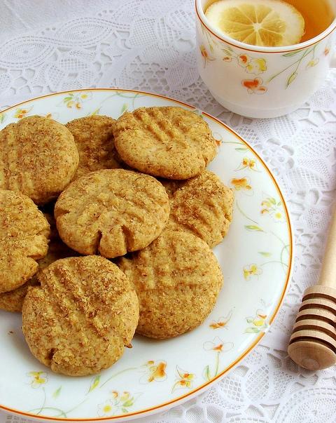 Вкусное печенье на меду