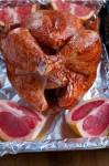 Курица с паприкой и грейпфрутом