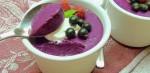 Суфле из ягод со сгущённым молоком