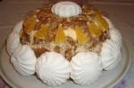Овсяной холодный торт