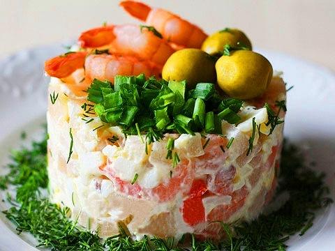 Салат «Средиземноморский»