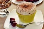 Французский десерт. Парфэ с грецкими орехами и медом