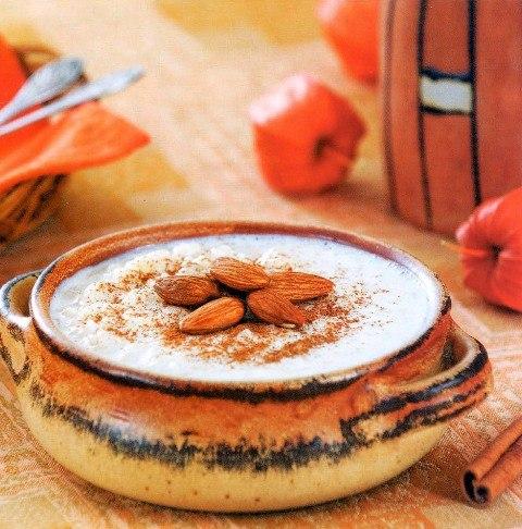 Ризогало – рисовый пудинг