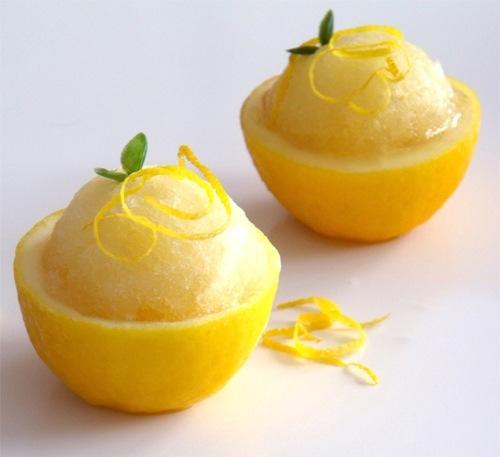 Бананово-лимонное сорбе