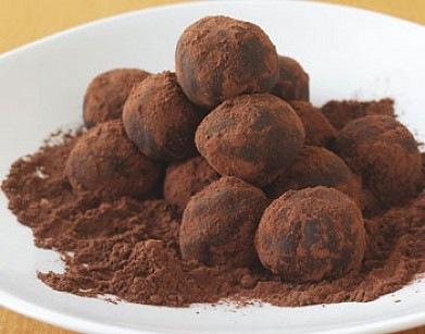 Шоколадно-финиковые трюфеля