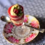 Творожно-клубничный десерт «Флирт» постный