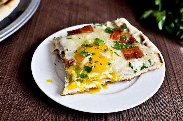 """Гриль пицца """"Завтрак"""""""