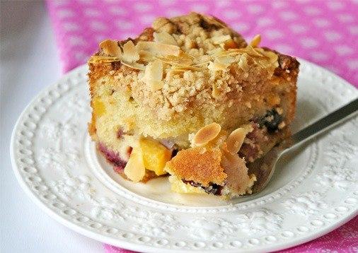 Американский летний фруктовый пирог