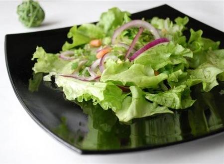 Зеленый салат рецепты — просто и со