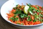 Салат из моркови с петрушкой