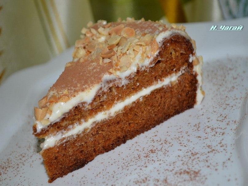 Творожно-морковный пирог