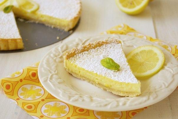 Французский лимонный тарт