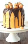 Шоколадно – апельсиновый торт