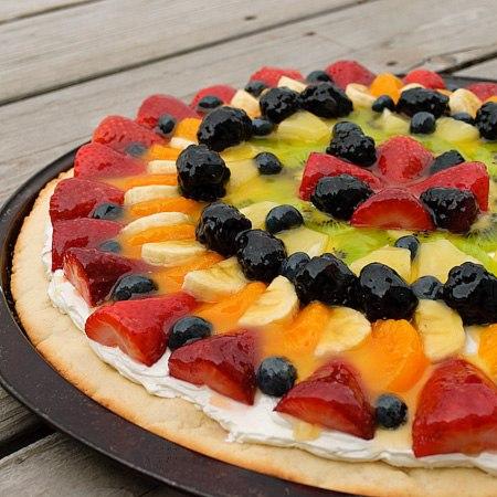 Фруктовая пицца