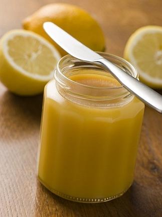 Новогодний лимонный крем