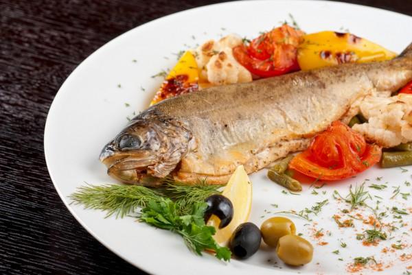 Запеченная рыба по-итальянски