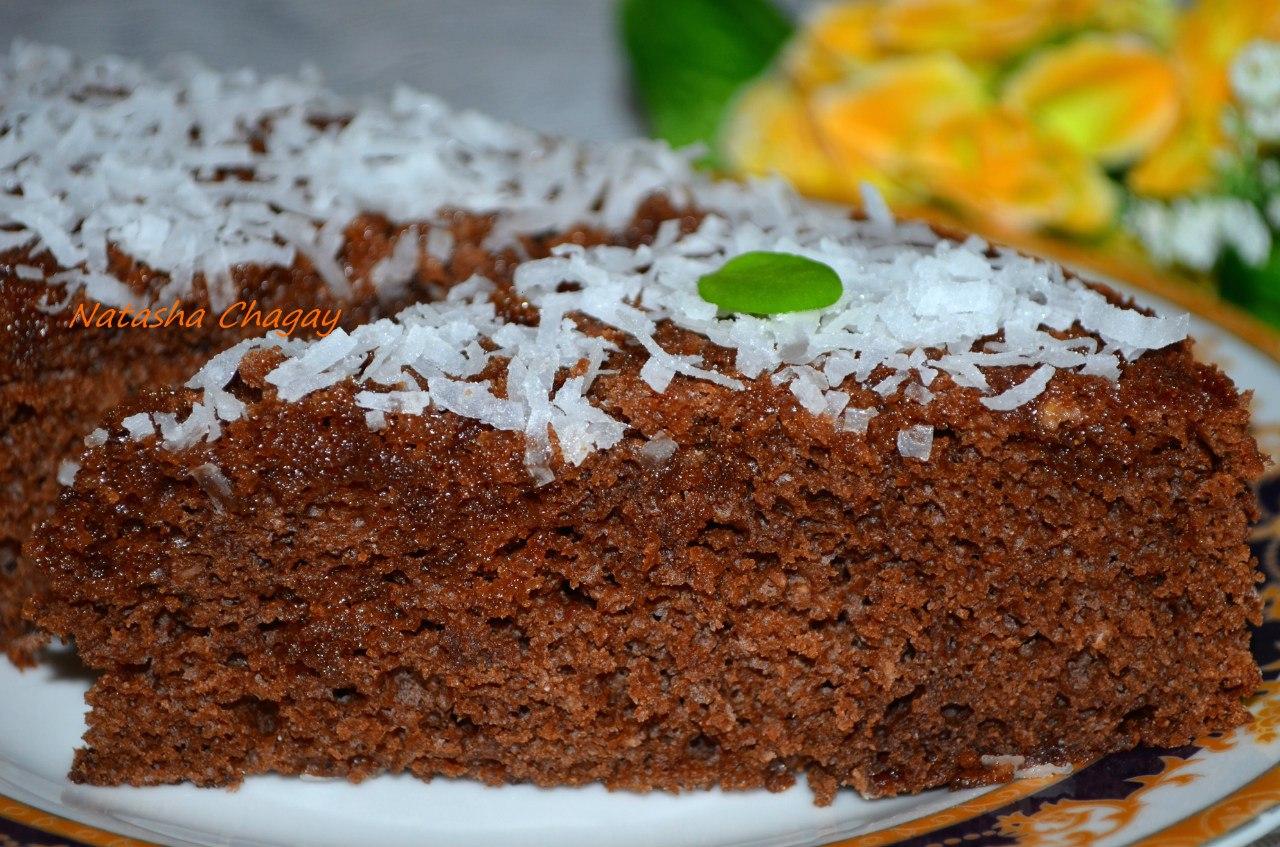 Торт с бананом и шоколадом рецепт